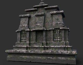 Ruin Ancient Temple - Khmer Architecture B 09 3D model
