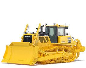Bulldozer Komatsu D155AXi 3D