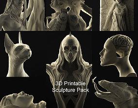 3D Printable Sculpture Pack