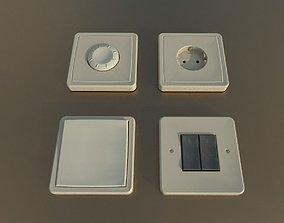 3D asset Socket Switches