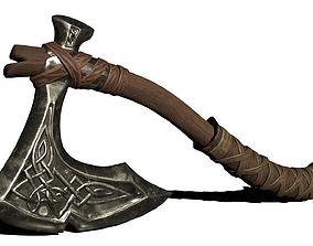3D model Stylized axe
