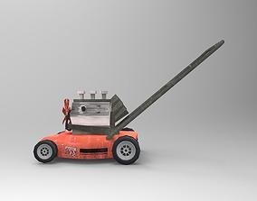 3D asset Tuned Lawnmower