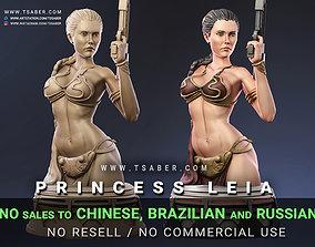 3D printable model Princess Leia Bust - Star Wars