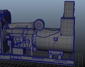 realtime 3D Model Creepy Power Generator