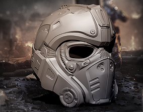 3D printable model Clayton Carmine Helmet