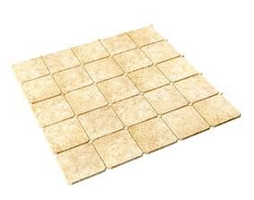 3D Square Sand Color Floor Tiles