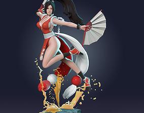 3D printable model zbrush Mai - King of Fighter
