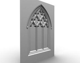 Gothic Window 060 3D model