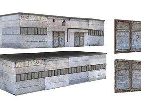 3D asset 3Model Factory Building 02