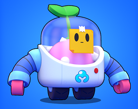 3D model Sprout - Brawl Stars