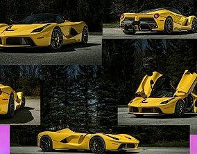 3D asset SPORT CAR LaFerrari Aperta