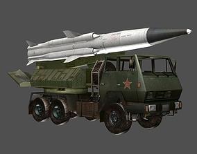 3D asset low-poly SX2190 Missile Launcher