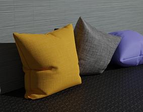 3D asset VR / AR ready Pillow