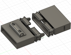 M134 Minigun Round Guide 3D print model