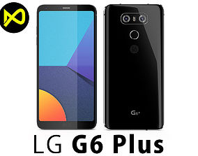3D model LG G6 Plus Black