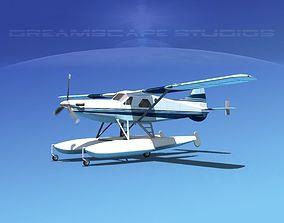 DeHavilland DHC-2 Turbo Beaver V12 3D