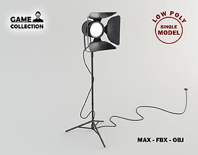 Focus Lamp 1 Lowpoly 3D model