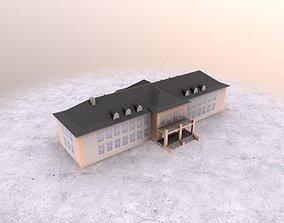 3D asset EDDB Old Terminal