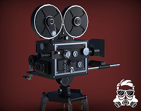 optic Vintage Camera 3D