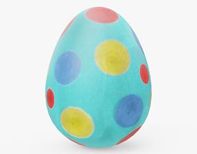 3D model Easter Egg 02