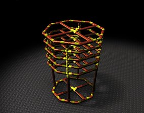 3D model Organic Vinegar reactor Structure