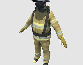FireFighter 3D asset