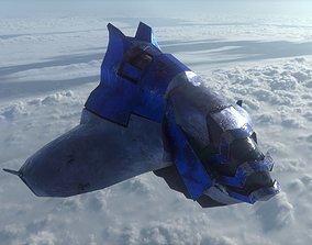 Spacecraft 3D asset