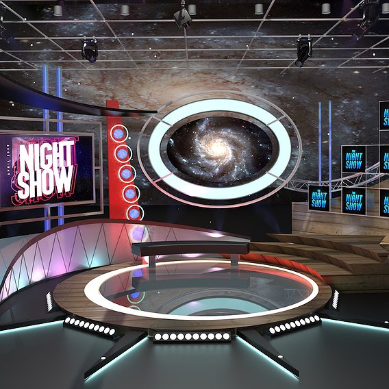 TV Studio Talkshow 1