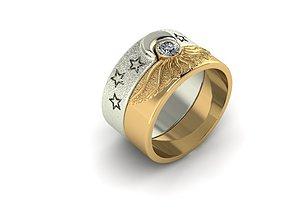 3D print model Day-Night ring