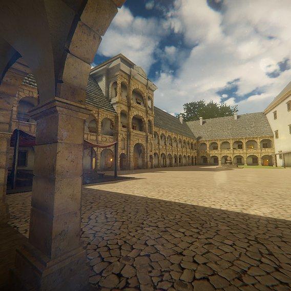 Castle environment