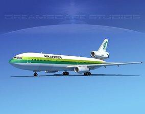 Douglas DC-10 Afrique 3D