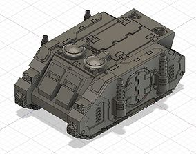 Rhino Deimos patter transport 3D printable model
