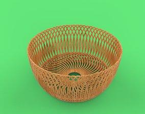 3D print model fruit basket
