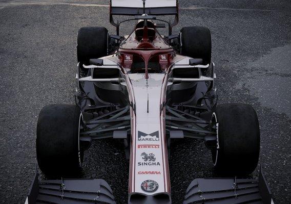 Alpha Romeo C39 2020