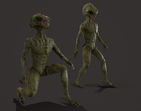Alien RIGGED PBR 3D model