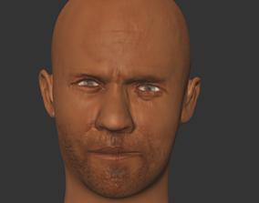 jason statham actor hollwood 3Dprint game-ready