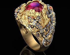 3D print model Salamander Ring
