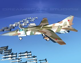 3D Mig 23 Flogger B V04 Russia
