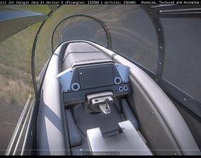 New Futuristic Jet Cockpit Wip-2 Version 1 3D model