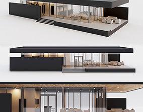 Villa house 1 3D asset