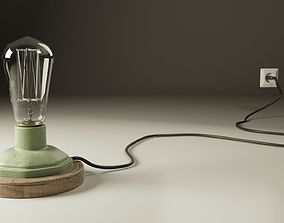 3D Table Lamp vintage