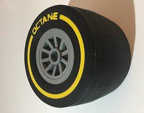 Racing Tyre Gift Box 3D printable model