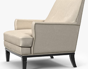 3D asset Holly Hunt George V Chair