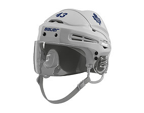 3D model Hockey Helmet Toronto Maple Leafs