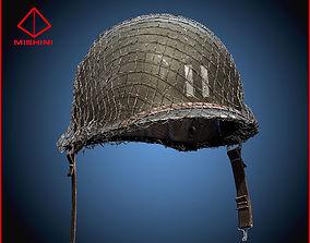 World War 2 Helmet American 3D Model