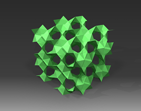 GYROID lowpoly - surface sample 3D model
