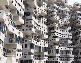 Complex Architectural Building Structure 3D