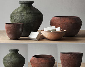 3D model RH Decor pot collection