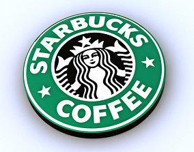 Starbucks Emblem 3D