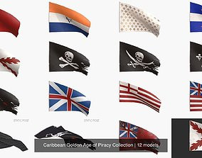 Caribbean Golden Age of Piracy Collection 3D